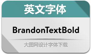 BrandonTextBold(英文字体)