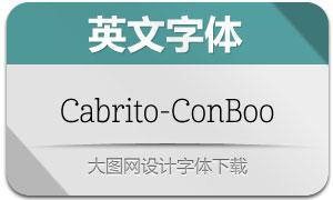 Cabrito-ConBoo(英文字体)