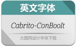 Cabrito-ConBooIt(英文字体)