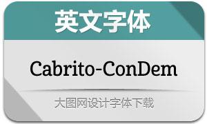 Cabrito-ConDem(英文字体)