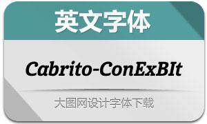 Cabrito-ConExBIt(英文字体)