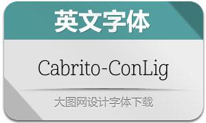 Cabrito-ConLig(英文字体)