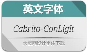 Cabrito-ConLigIt(英文字体)