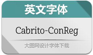 Cabrito-ConReg(英文字体)