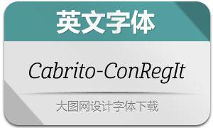 Cabrito-ConRegIt(英文字体)