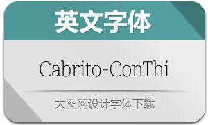 Cabrito-ConThi(英文字体)