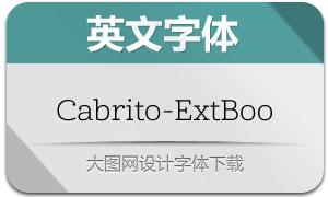 Cabrito-ExtBoo(英文字体)