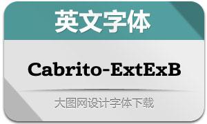 Cabrito-ExtExB(英文字体)