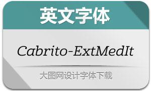Cabrito-ExtMedIt(英文字体)