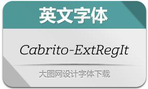Cabrito-ExtRegIt(英文字体)