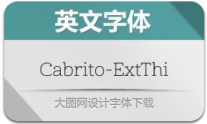 Cabrito-ExtThi(英文字体)