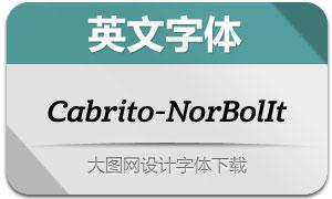 Cabrito-NorBolIt(英文字体)