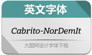 Cabrito-NorDemIt(英文字体)