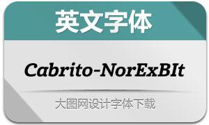 Cabrito-NorExBIt(英文字体)
