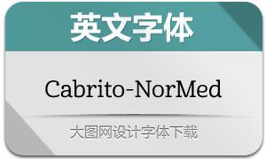 Cabrito-NorMed(英文字体)