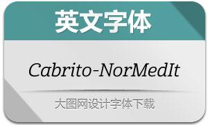 Cabrito-NorMedIt(英文字体)
