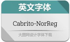 Cabrito-NorReg(英文字体)