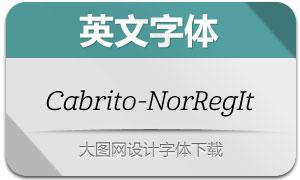Cabrito-NorRegIt(英文字体)