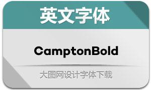 CamptonBold(英文字体)