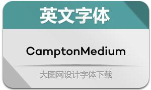 CamptonMedium(英文字体)