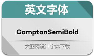 CamptonSemiBold(英文字体)