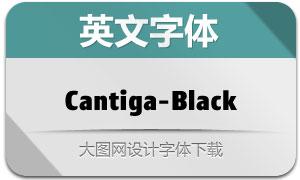 Cantiga-Black(英文字体)