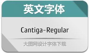 Cantiga-Regular(英文字体)