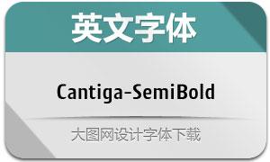 Cantiga-SemiBold(英文字体)