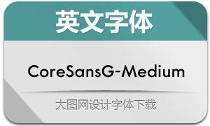 CoreSansG-Medium(英文字体)