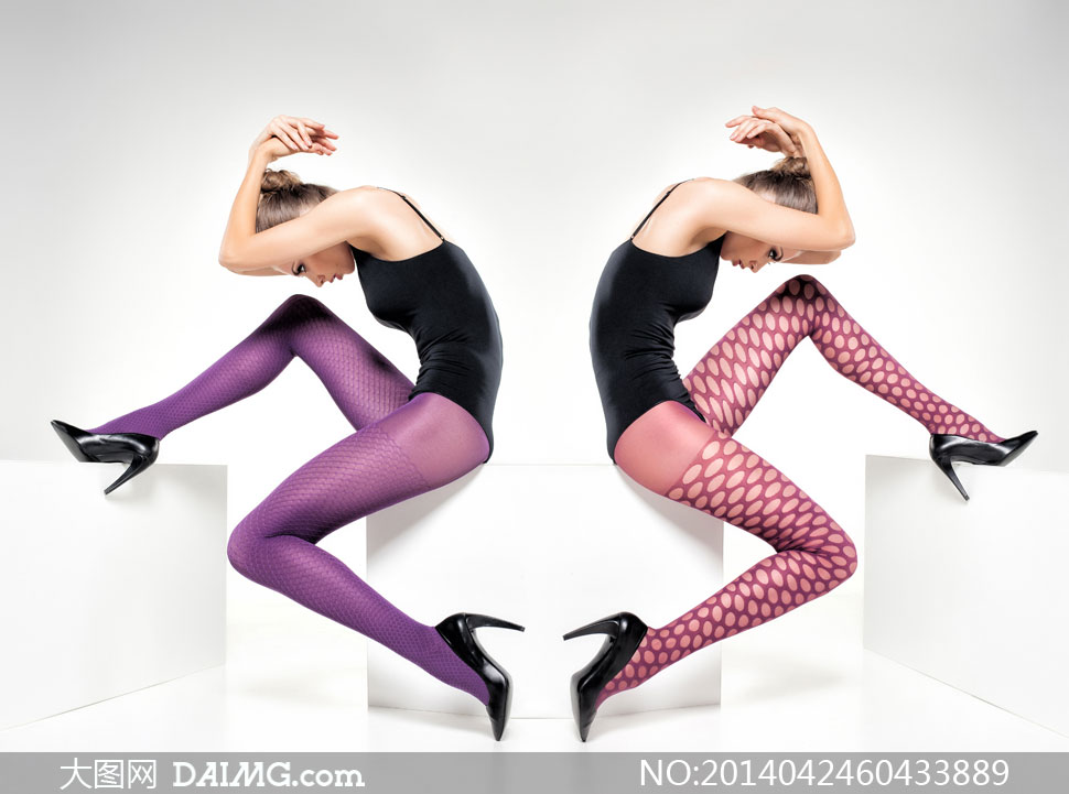 时尚丝袜广告模特美女摄影高清图片 大图网设