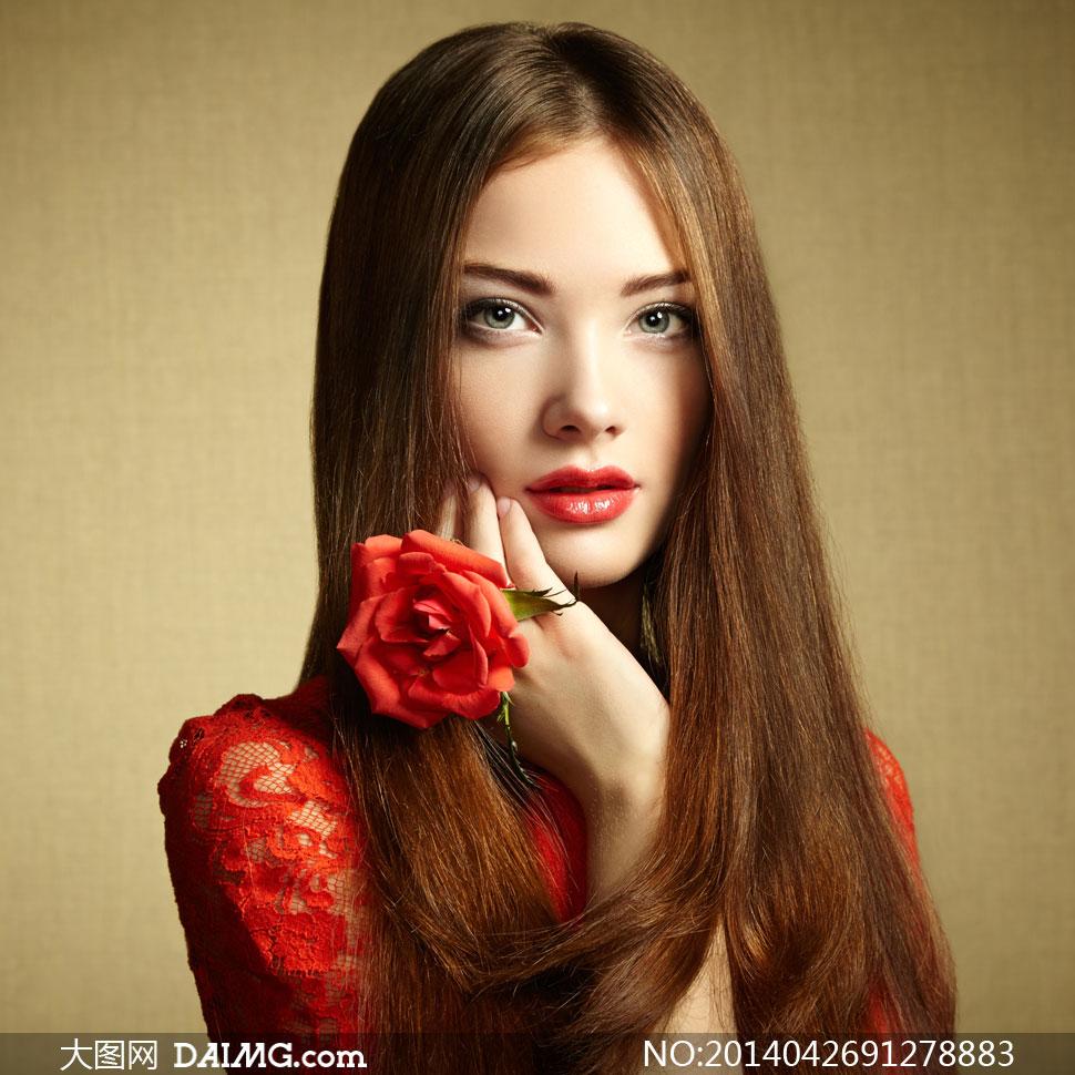 欧美美女模特女人