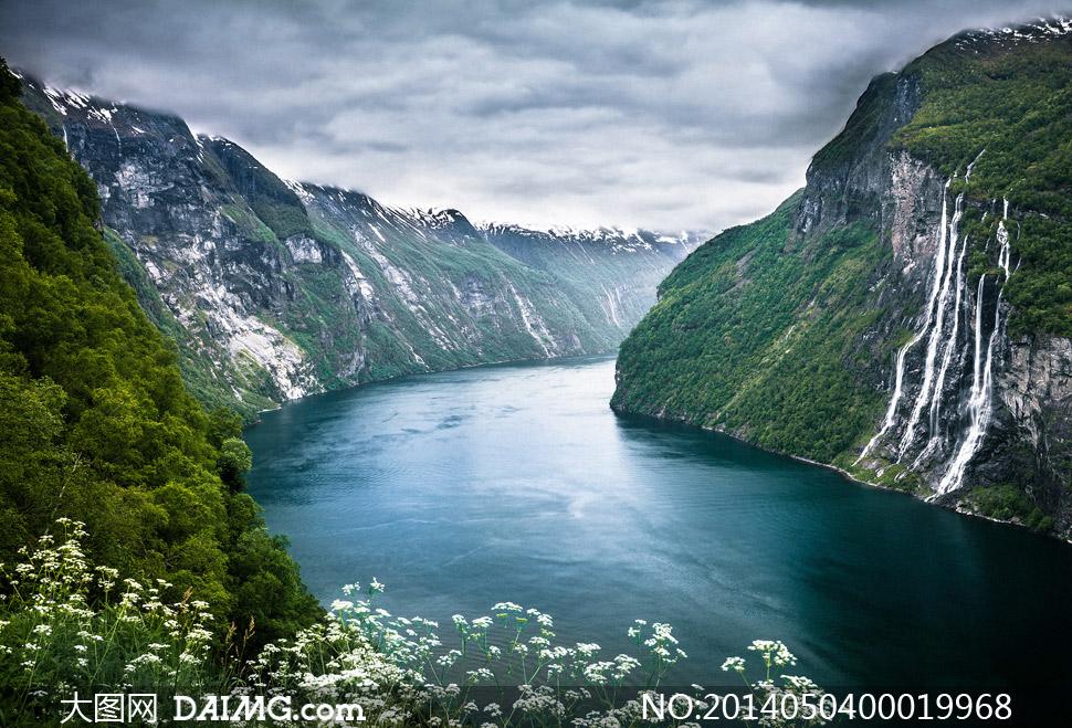 素材 美景/壮丽的山川河流美景摄影图片