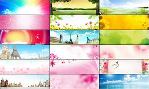 25款淘宝粉色唯美的广告背景图片素材
