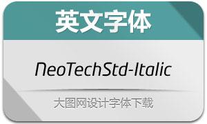 NeoTechStd-Italic(英文字体)