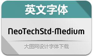 NeoTechStd-Medium(英文字体)