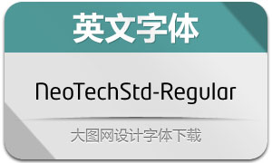 NeoTechStd-Regular(英文字体)