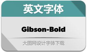 Gibson-Bold(英文字体)