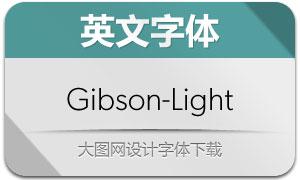 Gibson-Light(英文字体)