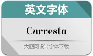 Curvesta(英文字体)