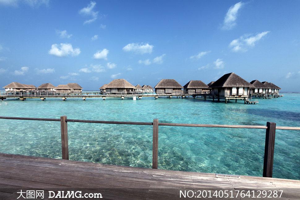 碧海蓝天的东南亚风景摄影高清图片