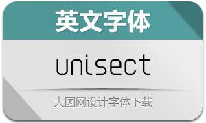 Unisect-Regular(英文字体)