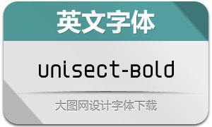 Unisect-Bold(英文字体)