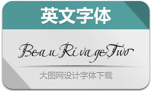 BeauRivageTwo(英文字体)