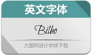 Bilbo(英文字体)