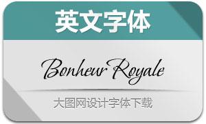 BonheurRoyale(英文字体)