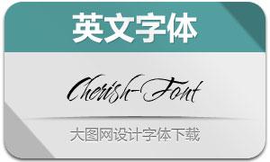 Cherish-Font(英文字体)