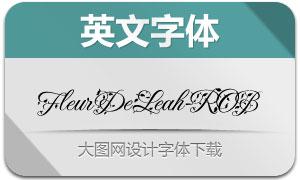 FleurDeLeah-ROB(英文字体)
