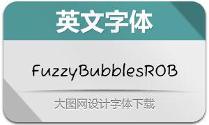 FuzzyBubblesROB(英文字体)