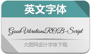 GoodVibrationsROB-Script(字体)