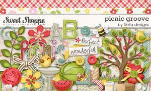 苹果蜜蜂纽扣与蛋糕等欧美剪贴素材